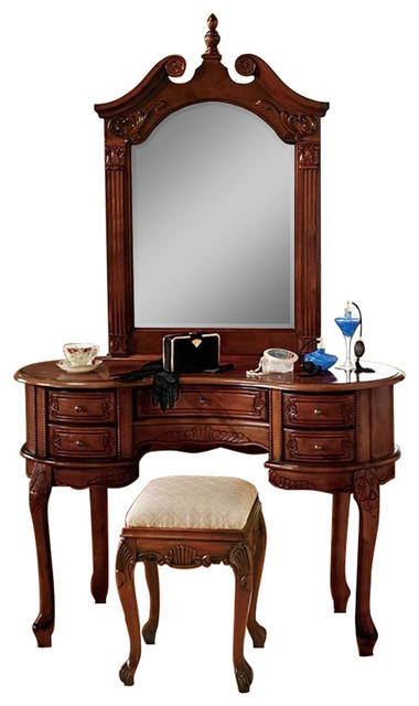 Queen Ann Dressing Table And Mirror Bedroom Amp Makeup