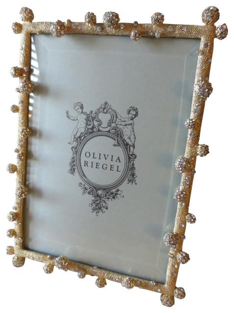 Olivia Riegel Gold Pave Odyssey Swarovski Crystal Photo