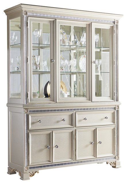 Fairfax Home Collections - Tiffany Hutch and Buffet & Reviews | Houzz