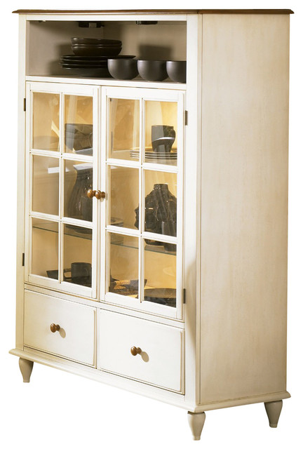 Liberty Furniture Low Country Curio Cabinet - Farmhouse - China ...