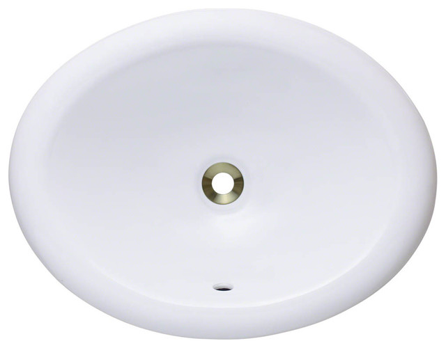overmount porcelain vanity bowl bathroom sinks by polaris sinks