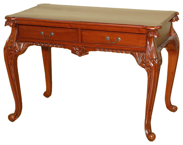 Shop Houzz MBW Furniture Cherry Chippendale Queen Anne