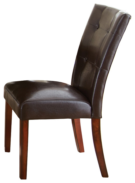 Montibello Parsons Chair Transitional Dining Chairs