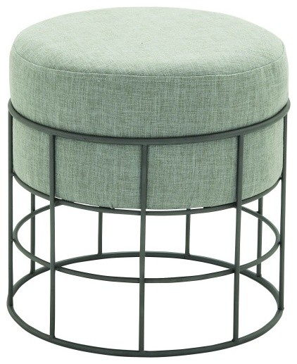 Comfortable Metal Outdoor Fabric Stool Traditional