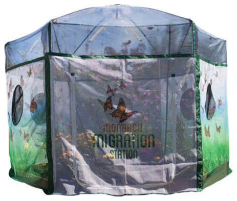 One Inch Series 8 Ftx7 Ft. Backyard Butterfly Learning Center.