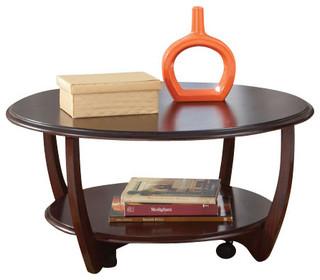 Shop Houzz Standard Furniture Standard Furniture Seattle Ii 3 Piece Coffee Table Set In Dark
