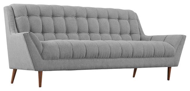 Response Fabric Sofa, Expectation Gray.
