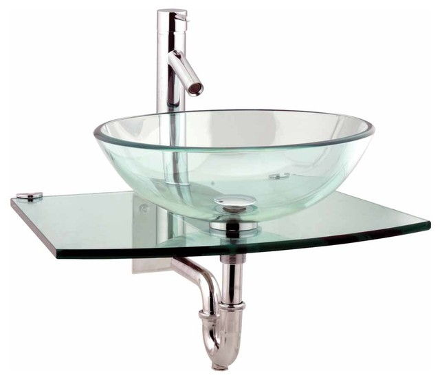 supply unique tempered glass wall mount vessel sink clear durable bathroom sinks