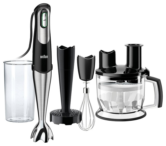 Braun Multiquick 7 Hand Blender, Black.