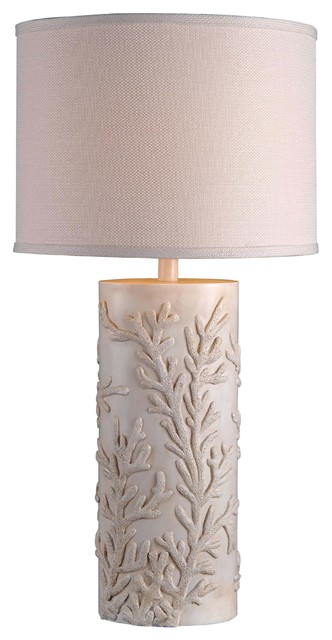 Kenroy Home Reef 30 Inch High Table Lamp.