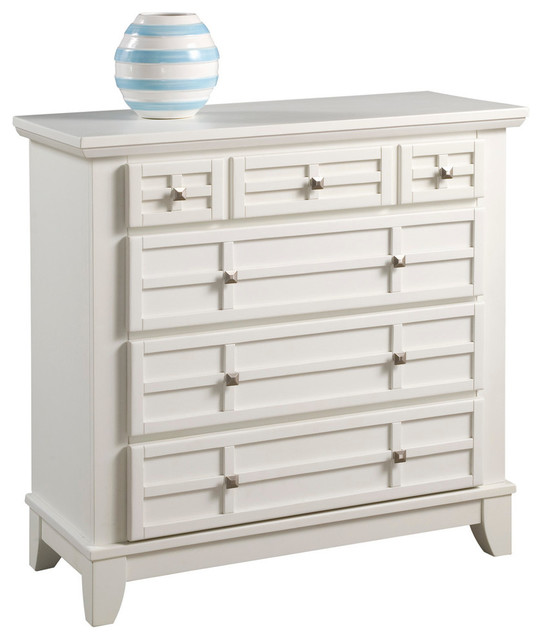 Arts And Crafts Chest, White.