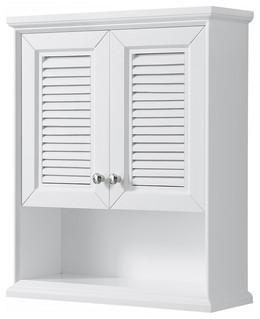 Tamara Wall Mounted Storage Cabinet Beach Style Bathroom Cabinets By Buildcom Houzz