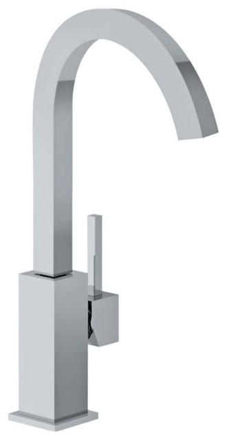 Franke Planar 8 High Arch Bar Kitchen Faucet, FFB2880 in Satin Nickel