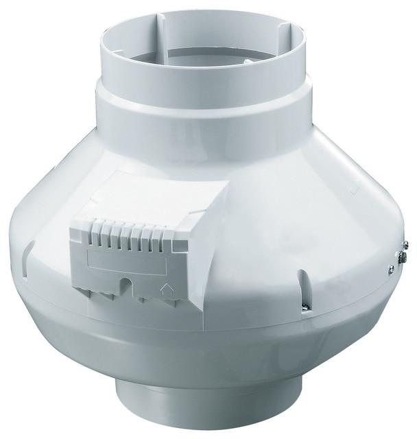 "Axp In-Line Duct Fan, 8"" And 583 Cfm"