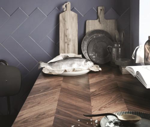 New IKEA Herringbone Wood Countertop