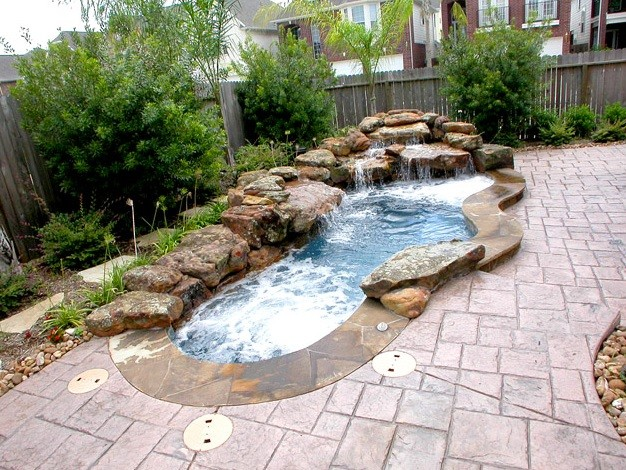 signature pools of texas swim spa traditional houston by signature pools of texas. Black Bedroom Furniture Sets. Home Design Ideas