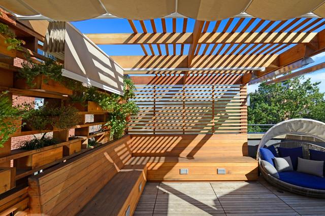 DC Roof Deck & Planter Wall - Moderne - Terrasse - Washington D.C. ...