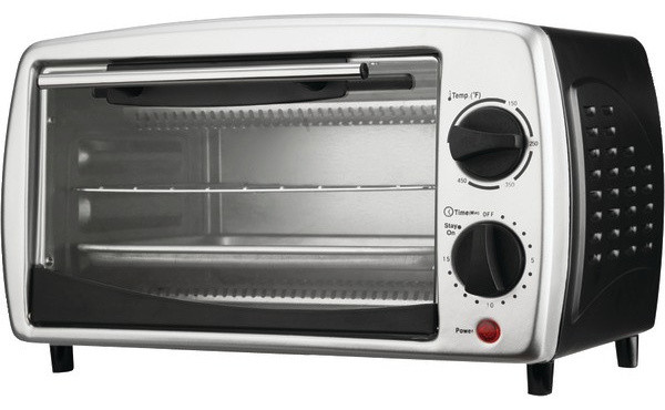 4-Slice Toaster Oven and Broiler - Contemporary - Toaster ...