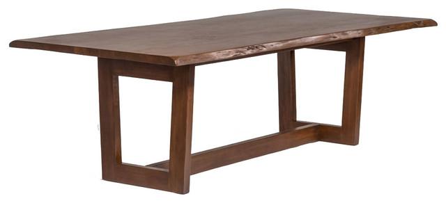 Aspen Live Edge Solid Wood Kitchen Table