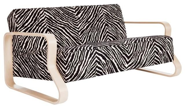 Artek Sofa Zebra Fabric