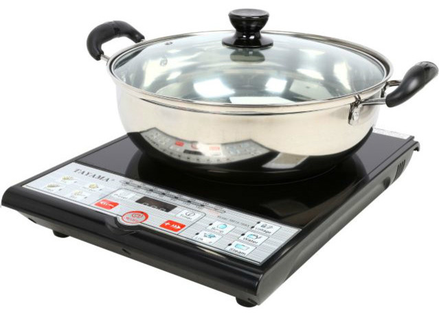 Induction Cooker With Pot.
