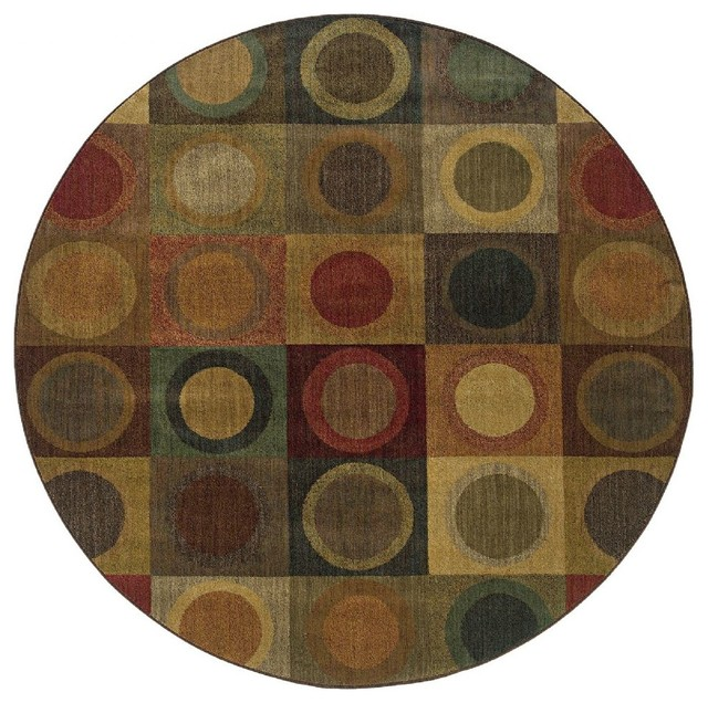Oriental weavers contemporary allure area rug reviews for Round contemporary area rugs