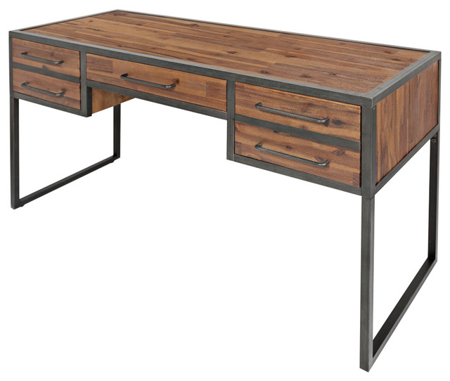 Industrial Desk studio 16 desk - industrial - desks and hutches -jofran
