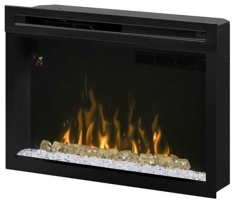 "Multi-Fire Xd Acrylic Ice Electric Firebox, 33""."