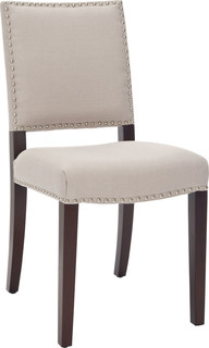 James Side Chairs, Set of 2, Beige