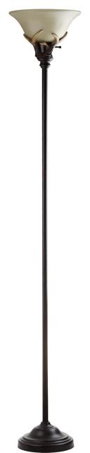 Safavieh Sapling 73.5-Inch High Torchiere Floor Lamp.