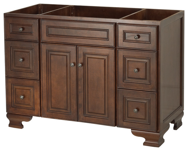 dark walnut bathroom cabinet salinger walnut bathroom vanity 30 quot traditional 18056