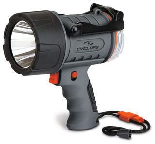 Cyclops - 300 Lumen Water Proof Rechargeable Spotlight - View in Your Room! | Houzz