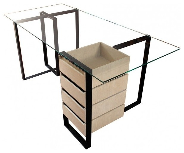 Alex De Rouvray Severin Desk With Drawers.