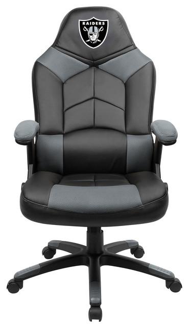 Stupendous Oakland Raiders Oversized Gaming Chair Inzonedesignstudio Interior Chair Design Inzonedesignstudiocom