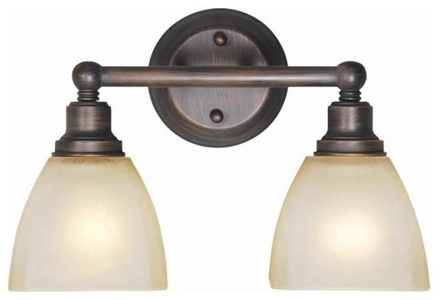 Craftmade Bradley 2 Light Bathroom Lighting Fixture Bronze Bathroom Vanity