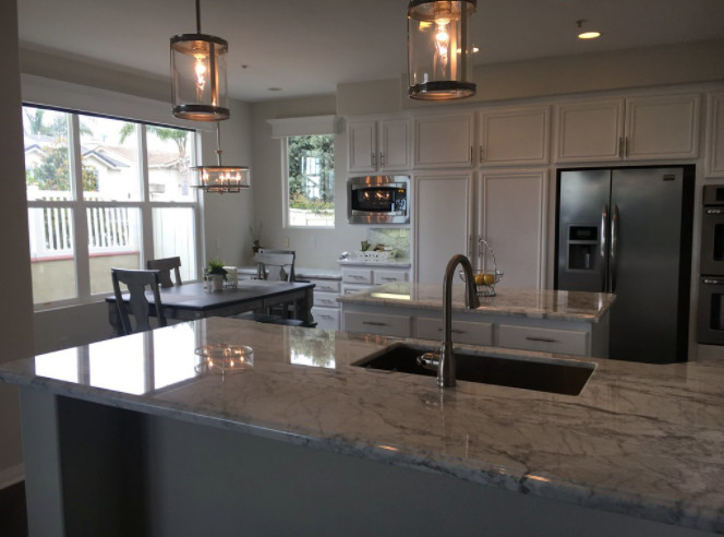Mission Viejo Marble Custom Counter