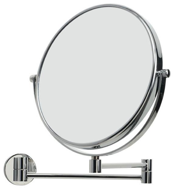 Shop Houzz | WS Bath Collections Mevedo 55852 Magnifying Mirror 3X - Makeup Mirrors