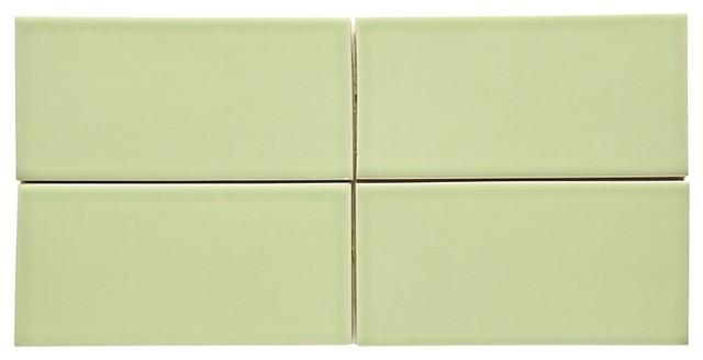 Waterworks Architectonics Field Tile 3x6 Green
