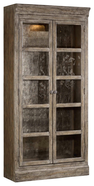 True Vintage Bunching Curio - Farmhouse - China Cabinets And ...