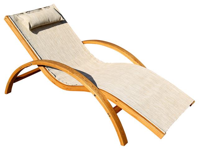 Sling Lounge Chair.