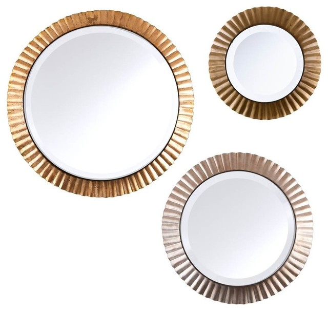 3 piece wall mirror
