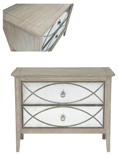 Bernhardt Furniture Marquesa Traditional Nightstands And Bedside Tables Los Angeles By Macqueen Home