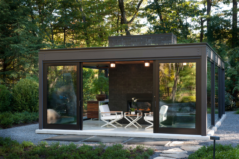 Glass House In The Garden Modern, Outdoor Glass Patio Rooms