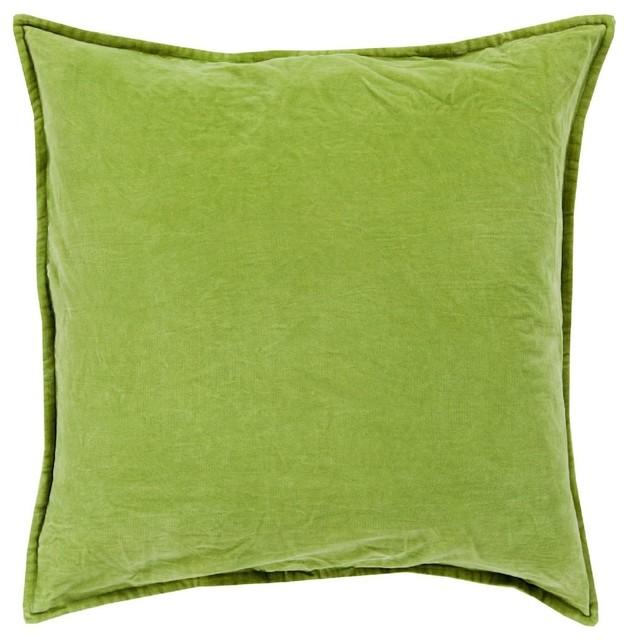 Cotton Velvet Decorative Pillows : Surya - Solid/Striped Cotton Velvet Decorative Pillow & Reviews Houzz