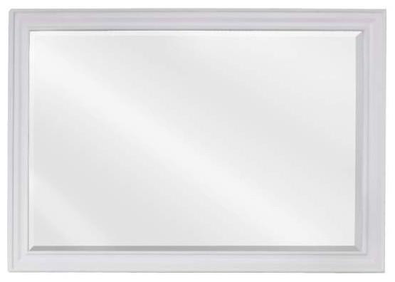 Douglas Bath Elements Mirror 42x1x28 White Transitional Bathroom Mirrors
