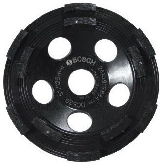 "5"" Diamond Cup Large Area Removal Disc"