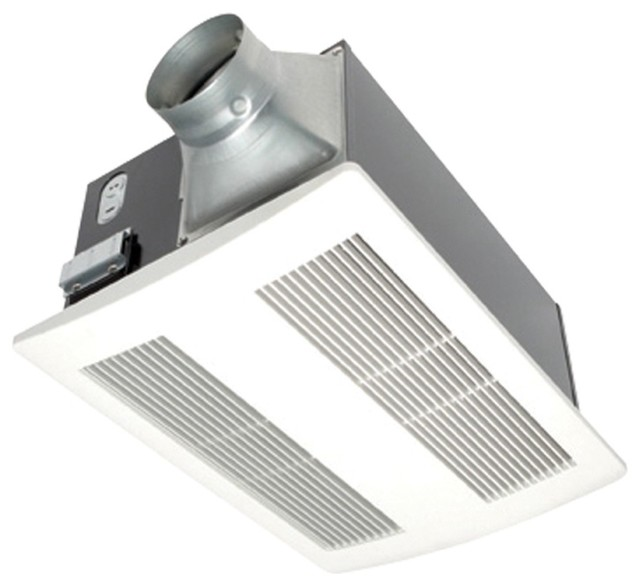 Panasonic Whisperwarm 0.6-Sone 110-Cfm Bathroom Fan