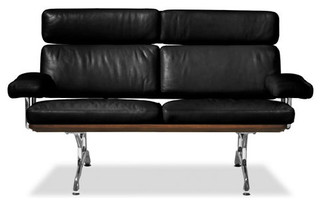 Eames Leather Sofa modern sofas