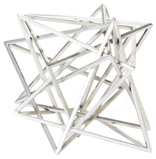 Shop houzz moe 39 s home collection star wire sculpture for Modern decorative objects