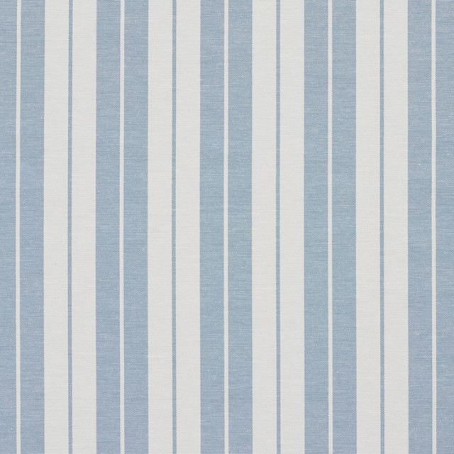 Aero Blue And White Ticking Stripes Heavy Duty Upholstery Fabric ...